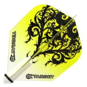 Target – darts Letky VISION 100 Standard Floral Yellow 34117360a