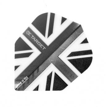 Target – darts Letky VISION 100 Standard UK Clear Black 34331440