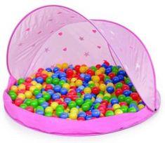 Paradiso Růžový stan s 50 míčky
