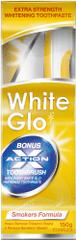 White Glo Zubní pasta Smokers 150 g + kartáček + mezizubní kartáček