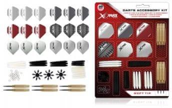 XQMax Darts Dartset - Šipky Soft - 18g