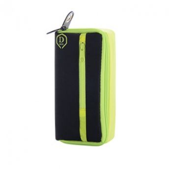 One80 Pouzdro na šipky Mini D Box - Yellow / Black