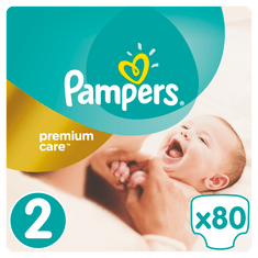 Pampers Plenky Premium Value Pack S2 80ks