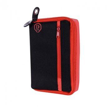 One80 Pouzdro na šipky Large D Box - Red / Black
