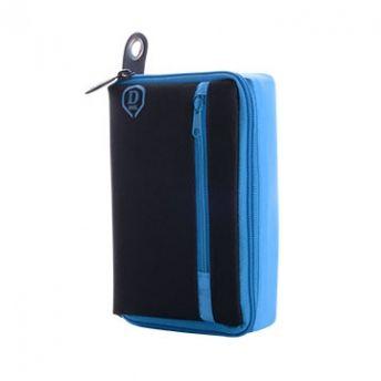 One80 Pouzdro na šipky Large D Box - Blue / Black