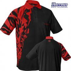 Harrows Košile Rapide - Black & Red