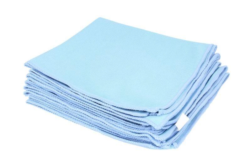 KAJA Utěrka z mikrovlákna, 40 x 40 cm, 240 g/m², modrá, 5 ks v balení