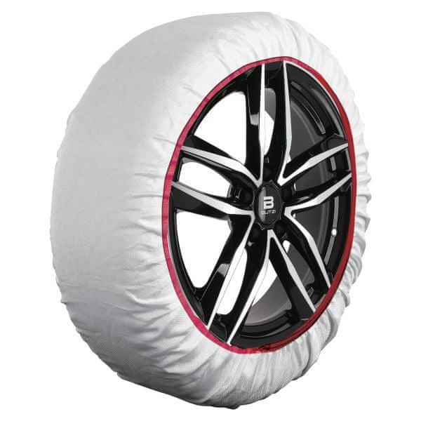 """Sumex Textilní sněhové řetězy - tzv. ponožky, pro vozy s velikostí kola: 14""""; 15""""; 16""""; 17""""; 18""""; 19""""; 20""""; 21"""""""