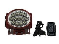 TIROSS Nabíjacie čelové svietidlo - čelovka 13 LED