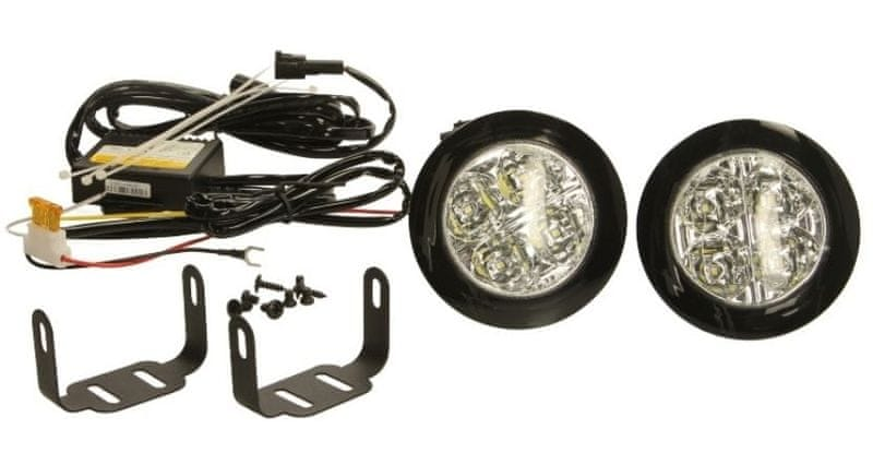 M-Tech LED světla pro denní svícení 12V 4xLED