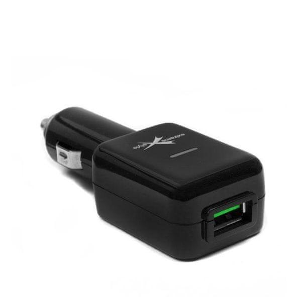 EXTREME STYLE Nabíječka do zdířky zapalovače USB; 3,1 A
