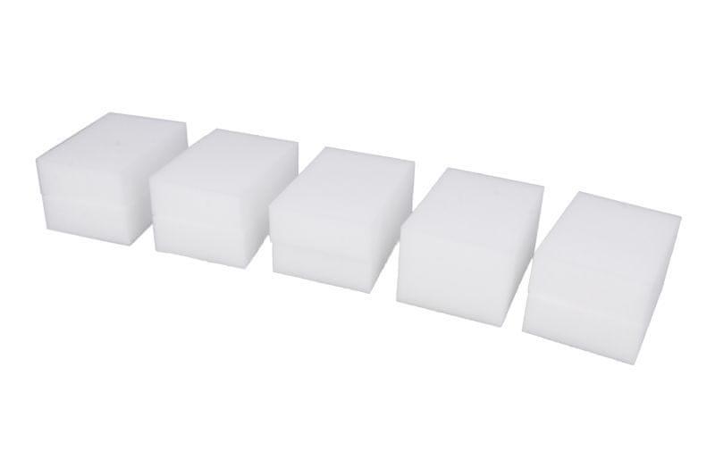 KAJA Melaminová houba na mytí, 10 x 7,1 x 2,8 cm, bílá, 10 ks
