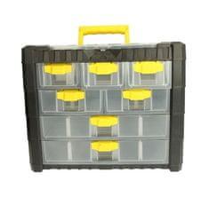 Prosperplast Skrinka na náradie, 7 zásuviek, rozmer 40 x 32,6 x 20 cm