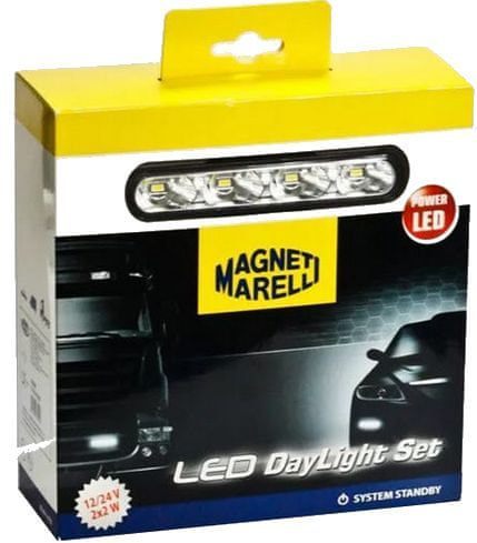 Magneti Marelli LED světla pro denní svícení 12/24V 4xLED
