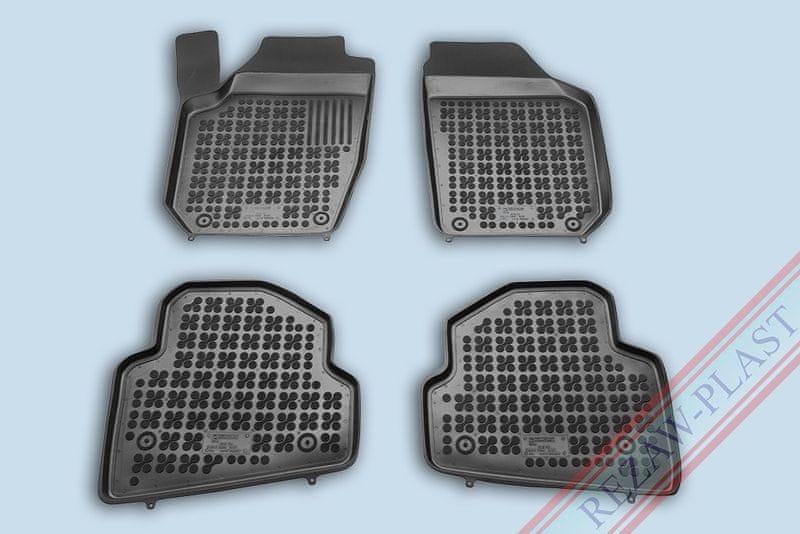 REZAW-PLAST SP. Z O. Gumové koberce, sada 4 ks (2x přední, 2x zadní), Škoda Fabia II 2007-2014