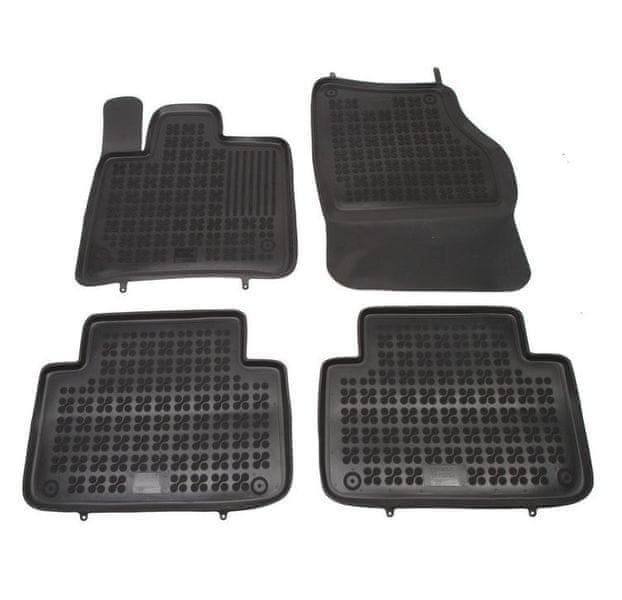 REZAW-PLAST SP. Z O. Gumové koberce, sada 4 ks (2x přední, 2x zadní), Audi Q7 2005-2014