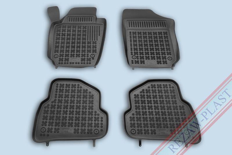REZAW-PLAST SP. Z O. Gumové koberce, sada 4 ks (2x přední, 2x zadní), VW Polo V od r. 2009