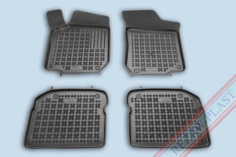 REZAW-PLAST SP. Z O. Gumové koberce, sada 4 ks (2 + 2), Škoda Octavia, VW Beetle a VW Bora, VW Golf, Seat Leon, Seat Toledo