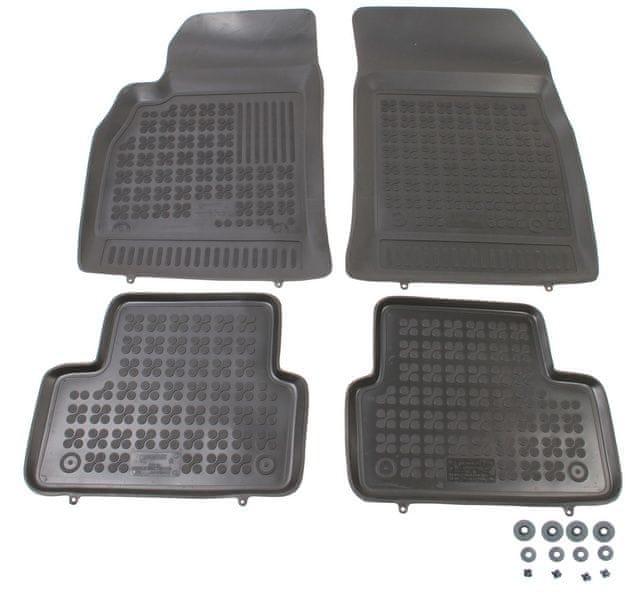 REZAW-PLAST Gumové koberce, sada 4 ks (2x přední, 2x zadní), Chevrolet Cruze od r. 2009