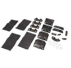 JOPE Montážny kit pätky, 4 ks, typ strechy: štandardná, pre vozidlá FORD MONDEO MK IV, 4/5 dv., 07-13; FORD MONDEO WAGON MK IV, 5 dv., 07-13