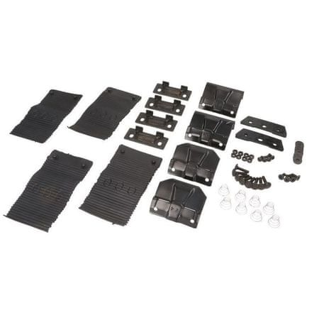 JOPE Montážní kit patky, 4 ks, typ střechy: standardní, pro vozy: FORD MONDEO MK IV, 4/5 dv., 07-13; FORD MONDEO WAGON MK IV, 5 dv., 07-13