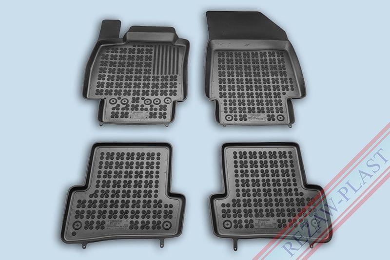 REZAW-PLAST SP. Z O. Gumové koberce, sada 4 ks (2x přední, 2x zadní), pro vozy typu Renault