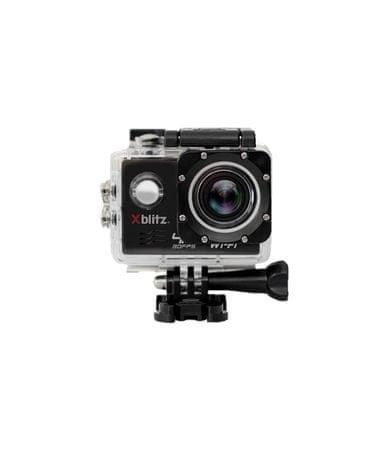 "XBlitz Outdoorová kamera Action 4K, vodotěsná do 30 m, 2"" displej"