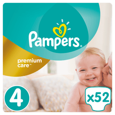 Pampers Pampers Premium Value Pack S4 52ks