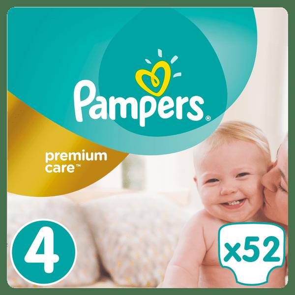 Pampers Pampers Premium Value Pack S4 52ks