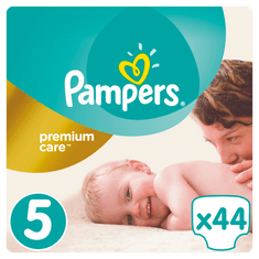 Pampers pleničke Premium Junior (5), 11-25 kg, 44 koso