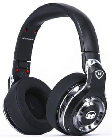 Monster słuchawki bezprzewodowe Elements Wireless Over Ear, czarny