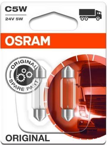Osram Žárovka typ C5W, 24V, 5W, Standard 2 ks