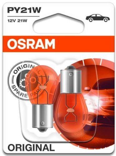 Osram Žárovka typ PY21W, 12V, 21W, Standard