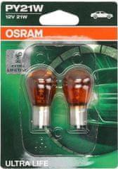 Osram Žárovka typ PY21W, 12V, 21W, Ultra Life
