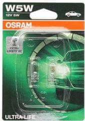 Osram Žárovka typ W5W, 12V, 5W, Ultra Life
