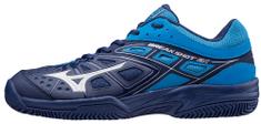 Mizuno teniški čevlji Break Shot EX CC, modro bela