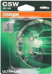 Osram Žárovka typ C5W, 12V, 5W, Ultra Life