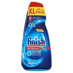Finish Shine & Protect gépi Mosogató gél, 3 x 650 ml
