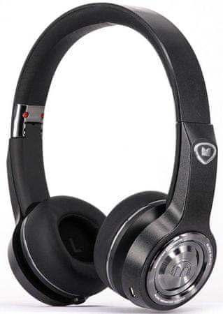 Monster Elements Wireless On Ear, černá