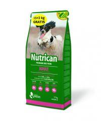Nutrican pasja hrana Adult 15kg + 2kg brezplačno