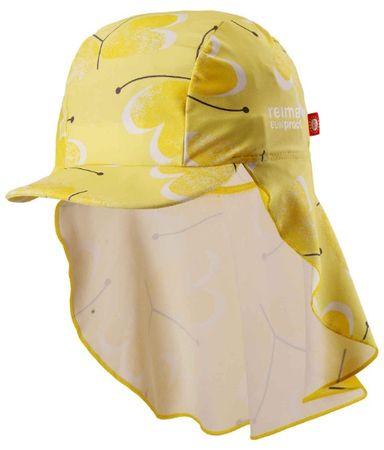 Reima ochronne nakrycie głowy Octopus UV 50+ Yellow 52/54