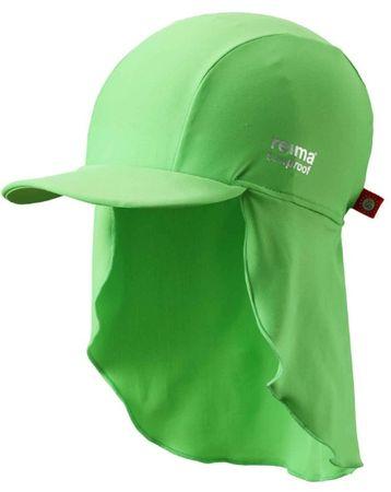Reima otroška kapa proti soncu Turtle UV 50+, green, zelena, 44/46
