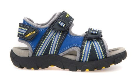 Geox fantovski sandali Strada, modri, 33
