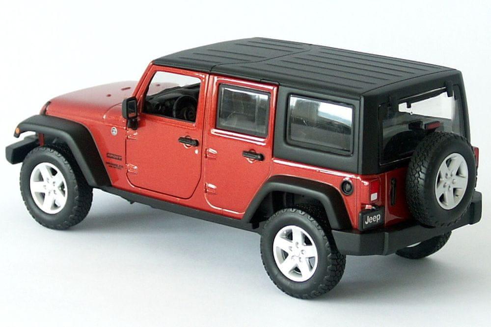 Maisto Jeep Wrangler Unlimited