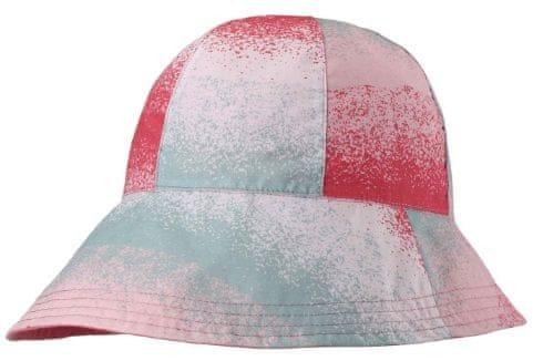 Reima Dětský oboustranný klobouček Viiri UV 50+ 48 červená