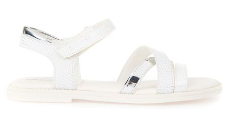 Geox dekliški sandali Karly, beli, 29