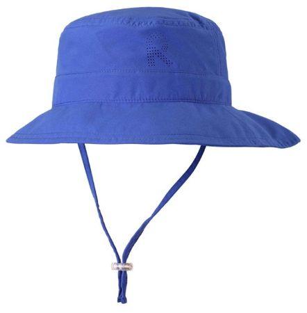 Reima Dětský klobouček proti slunci Tropical UV 50+ Blue 46 plava