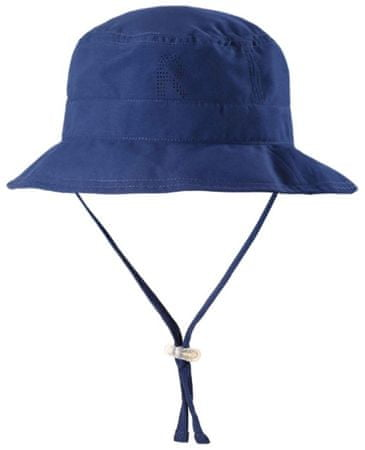 Reima Dětský klobouček proti slunci Tropical UV 50+ 54 modrá