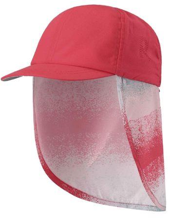 Reima otroška zaščitna kapa Alytos UV 50+, rdeča, 54