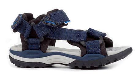 Geox fantovski sandali Borealis, modri, 36